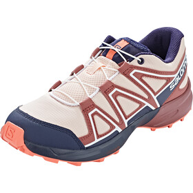 Salomon Speedcross Shoes Kids tropical peach/apple butter/living coral